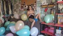 Mishel Full Custom 100 Balloons - Part 5 (Non Popping) 6