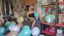 Mishel Full Custom 100 Balloons - Part 5 (Non Popping) 9