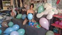 Mishel Full Custom 100 Balloons - Part 3 (Non Popping) 6