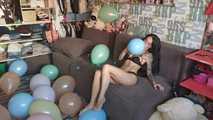 Mishel Full Custom 100 Balloons - Part 10 (Popping) 5