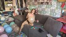 Mishel Full Custom 100 Balloons - Part 9 (Popping) 5