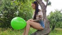 Mishel green outdoor b2p in trees 6