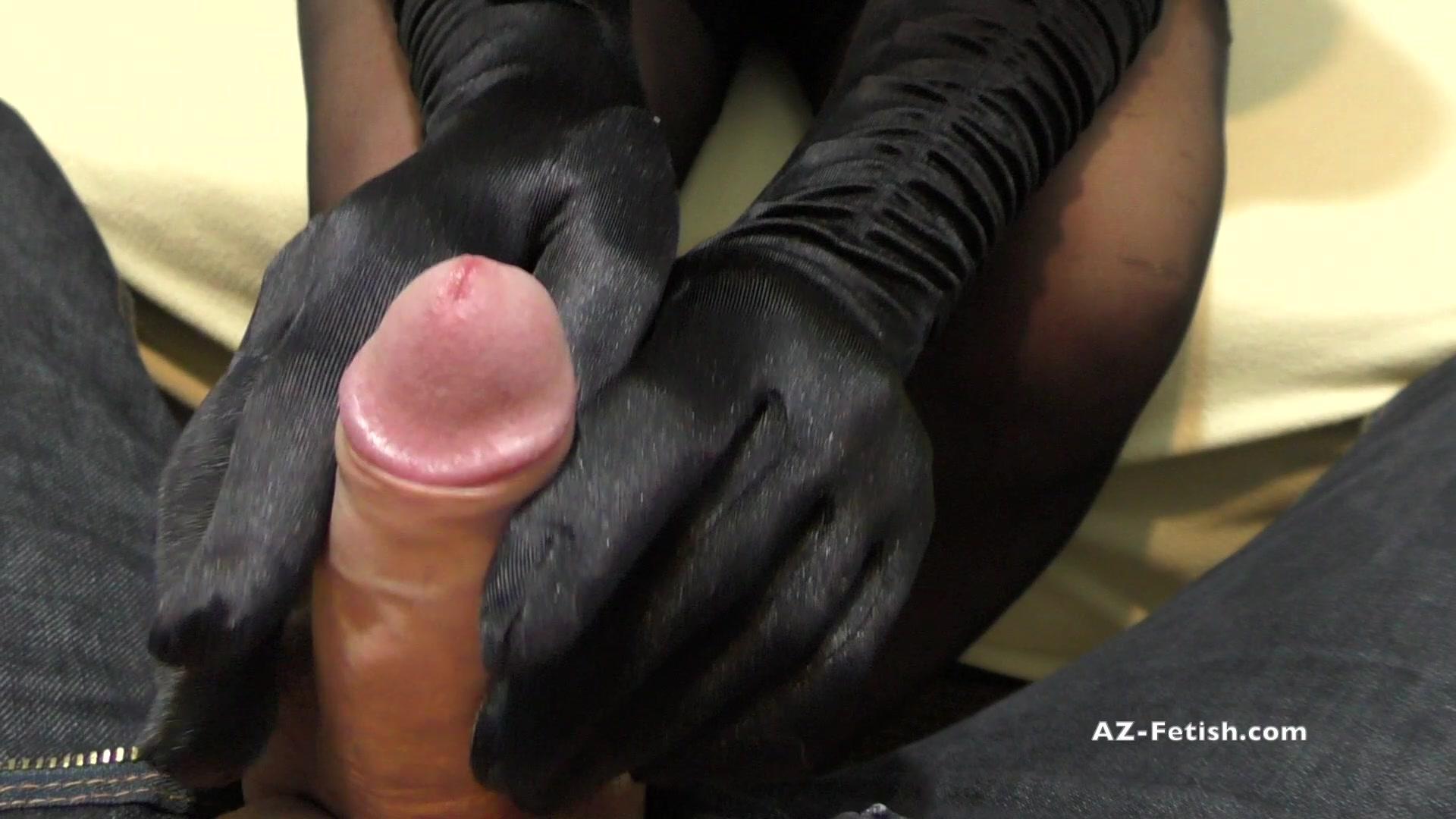 Gloves handjobs