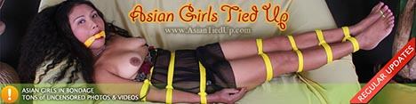 Asian Girls Tied Up